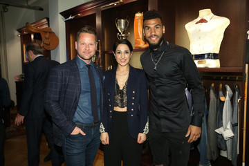 Eric Maxim Choupo-Moting La Martina Hosts Get Together in Duesseldorf