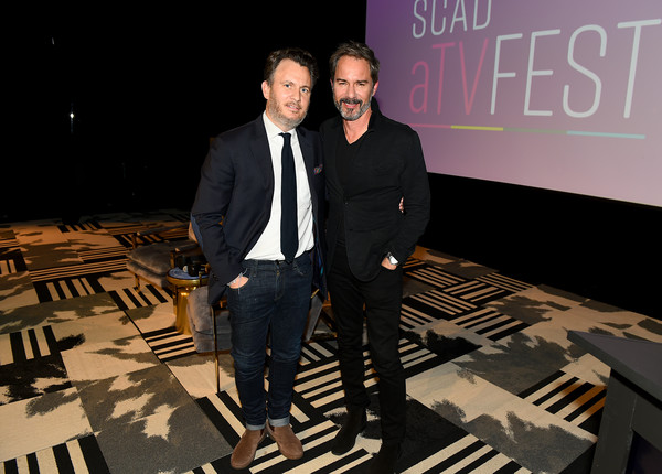 SCAD aTVfest 2020 - In Conversation With Eric McCormack And Impact Award Presentation [fashion,event,design,suit,eric mccormack,jd heyman,georgia,atlanta,scad atvfest,l,conversation with eric mccormack and impact award presentation,scad atvfest 2020,conversation with eric mccorck and impact award presentation press junket,public relations,fashion,design,socialite,public]