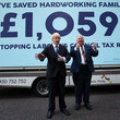 Eric Pickles Boris Johnson And Eric Pickles Launch Conservative Campaign Posters