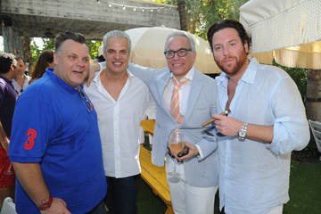 Eric Ripert Geoffrey Zakarian Geoffrey and Margaret Zakarian's Rose Lunch at the Soho Beach House