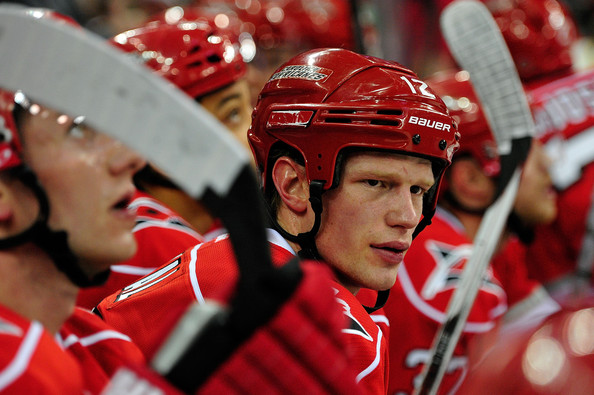 Eric Staal - Montreal Canadiens v Carolina Hurricanes