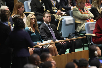 Eric Trump World Leaders Address The United Nations General Assembly