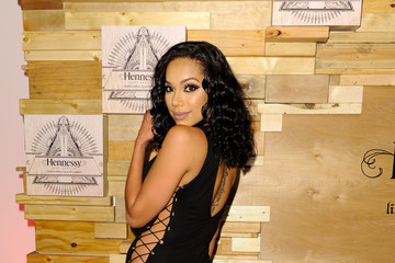 Erica Mena Hennessy V.S Limited Edition By Scott Campbell Bottle Launch