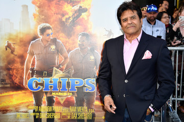 Erik Estrada Premiere Of Warner Bros. Pictures' 'CHiPS' - Arrivals