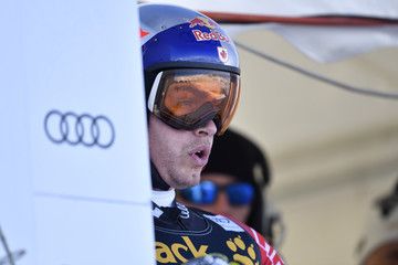 Erik Guay Audi FIS Alpine Ski World Cup - Men's Downhill Training