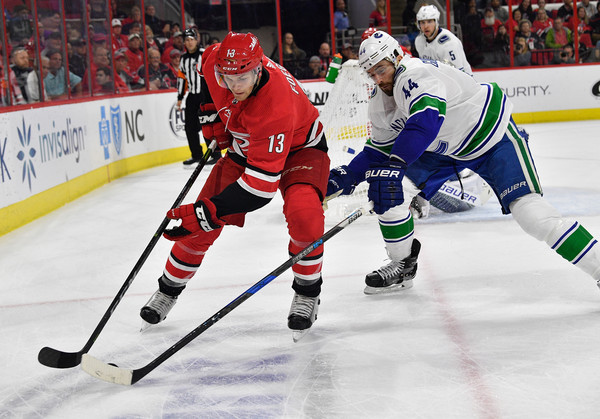 Vancouver Canucks vs. Carolina Hurricanes
