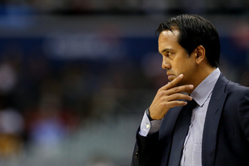 Erik Spoelstra Miami Heat vs. Washington Wizards