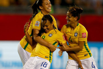 Erika Costa Rica v Brazil: Group E - FIFA Women's World Cup 2015