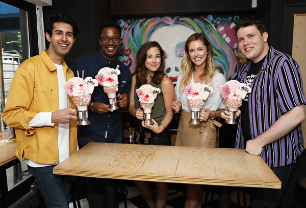 Mean Girls CrazyShake Launch At Black Tap Craft Burgers And Beer In Midtown, New York