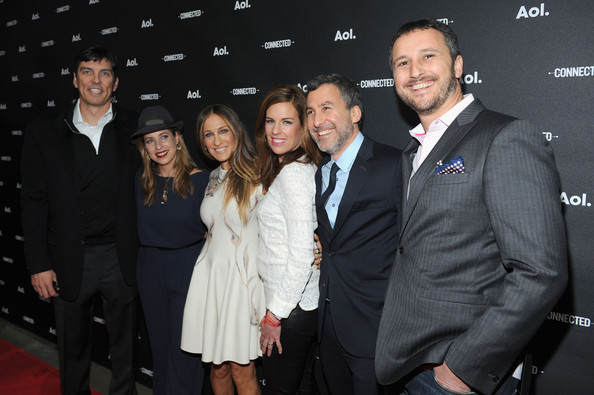 Arrivals at the AOL NewFronts