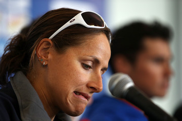 Erin Densham 2012 ITU World Triathlon Grand Final - Press Conference