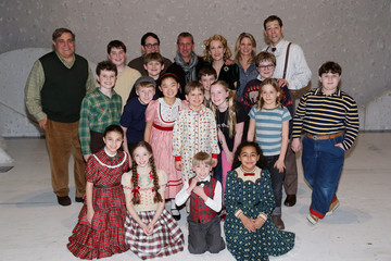 """Erin Dilly Matthew Broderick, Adam Shenkman And Kelli O'Hara Attend """"A Christmas Story, The Musical"""" Broadway Performance"""
