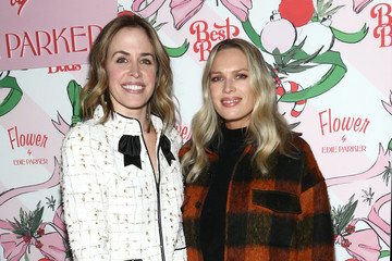 Erin Foster Best Buds Holiday Party With Kacey Musgraves And Flower By Edie Parker Flower