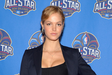 Erin Heatherton The 63rd NBA All-Star Game 2014 - Arrivals