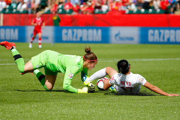 Erin Mcleod Canada v China PR: Group A - FIFA Women's World Cup 2015