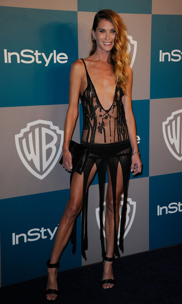 Erin Wasson Model Erin Wasson arrives at 13th Annual Warner Bros. And InStyle Golden Globe Awards After Party at The Beverly Hilton hotel on January 15, 2012 in Beverly Hills, California.