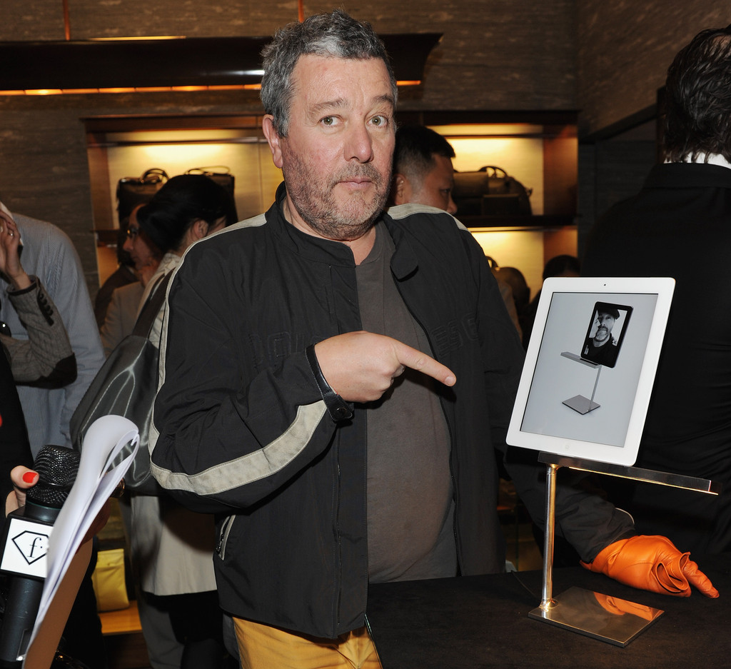 Philippe starck photos photos ermenegildo zegna and flos for Antonio citterio moglie