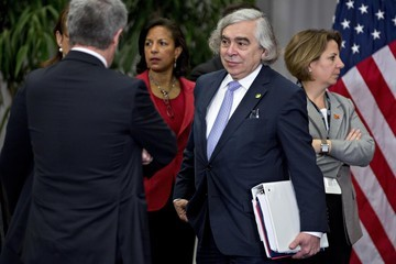 Ernest Moniz President Obama Participates in the Nuclear Security Summit