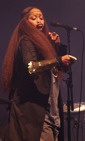 Erykah Badu Long Hair