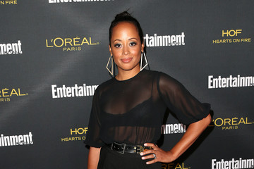 Essence Atkins Entertainment Weekly's Pre-Emmy Party