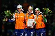Ireen Wust and Linda de Vries Photos Photo