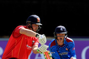 Jesse Ryder of Essex hits out during the Royal London One-Day Cup match between Essex and Kent at the Ford County Ground on June 15, 2016 in Chelmsford, England.