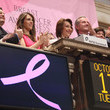 William P. Lauder Estee Lauder's Breast Cancer Awareness Campaign Rings The NYSE Opening Bell