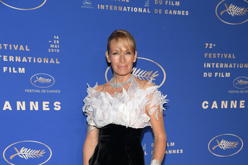 Estelle Lefebure Gala Dinner Arrivals - The 72nd Annual Cannes Film Festival