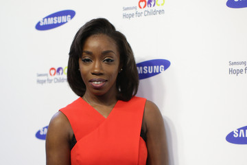 Estelle Arrivals at the Samsung Hope for Children Gala
