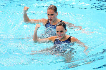 Etel Sanchez Synchronised Swimming - 16th FINA World Championships: Day Two