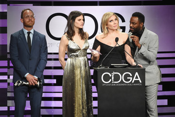 Ethan Embry June Diane Raphael 21st CDGA (Costume Designers Guild Awards) - Show And Audience