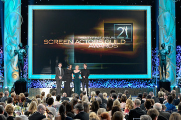 Ethan Hawke Patricia Arquette 21st Annual Screen Actors Guild Awards - Show