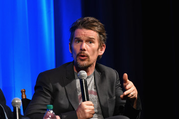 Ethan Hawke The Academy Of Motion Picture Arts And Sciences Hosts a Screening pf 'Seymour: An Introduction'