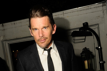 Ethan Hawke Montblanc And The Cinema Society With Mastro Dobel & Kim Crawford Wines Host A Screening Of Sony Pictures Classics' Maggie's Plan - After Party
