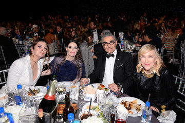 Eugene Levy Annie Murphy The Counter At Critics' Choice Awards