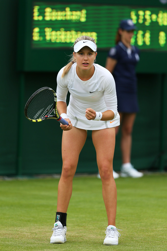 Eugénie Bouchard - Page 3 Eugenie+Bouchard+General+Views+Wimbledon+Opening+wprHTRnZ6rgx