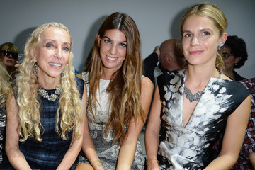 Eugenie Niarchos PFW: Front Row at Giambattista Valli