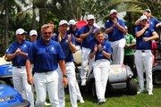 Team Europe celebrates after winning the EurAsia Cup 2016 presented DRB-HICOM at Glenmarie G&CC on January 17, 2016 in Kuala Lumpur, Malaysia.