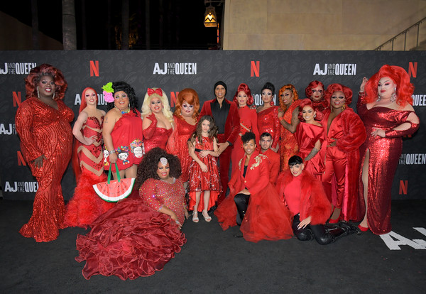 Netflix's 'AJ And The Queen' Season One Premiere [season,event,costume,aj,queen,queens,rupaul c,izzy g.,c,egyptian theatre,netflix,premiere,rupaul,valentina,kennedy davenport,aj and the queen,rupauls drag race,izzy g.,jaymes mansfield,rupauls drag race - season 9,premiere,netflix]