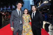 Jason Reitman Ansel Elgort Photos Photo