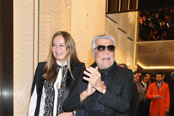 Eva Cavalli Roberto Cavalli - Boutique Opening - Milan Fashion Week Womenswear Autumn/Winter 2014