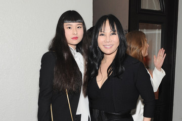 Eva Chow Asia Chow Dom Perignon And W Magazine Celebrate The Golden Globes At Chateau Marmout
