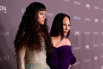 Eva Chow Asia Chow 2017 LACMA Art + Film Gala Honoring Mark Bradford and George Lucas Presented by Gucci - Red Carpet