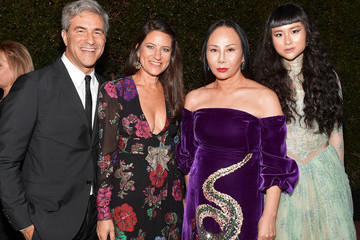 Eva Chow Michael Govan 2017 LACMA Art + Film Gala Honoring Mark Bradford and George Lucas Presented by Gucci - Inside