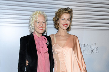 Eva Herzigova Jean-Paul Gaultier: Photocall - Paris Fashion Week - Haute Couture Spring/Summer 2020