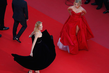 Eva Herzigova 'Ash Is The Purest White (Jiang Hu Er Nv)' Red Carpet Arrivals - The 71st Annual Cannes Film Festival