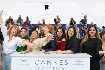Eva Husson 'Girls Of The Sun (Les Filles Du Soleil)' Photocall - The 71st Annual Cannes Film Festival