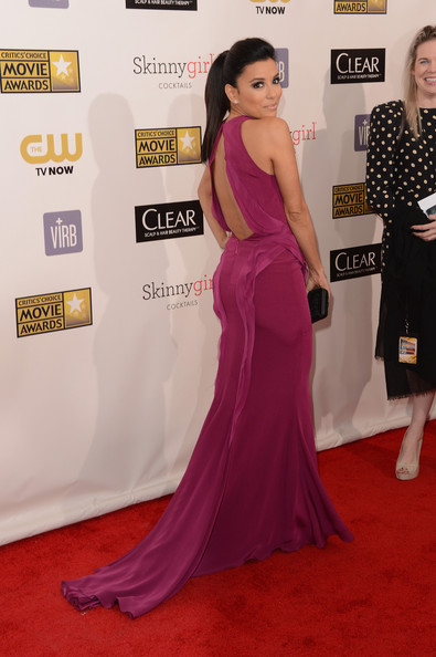 Eva Longoria - 18th Annual Critics' Choice Movie Awards - Arrivals
