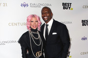 Rebecca King-Crews and Terry Crews attend the Eva Longoria Foundation Gala at Four Seasons Los Angeles at Beverly Hills on November 15, 2019 in Los Angeles, California.