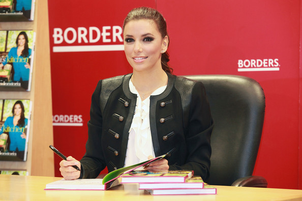 Eva Longoria Signs Copies Of \